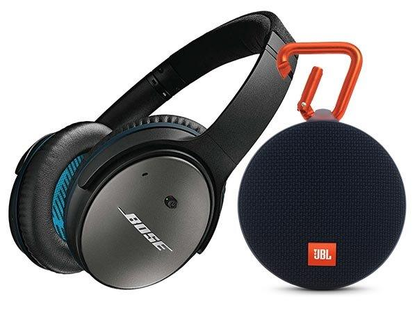 Noise Cancellation Headphones and Buetooth Speakers