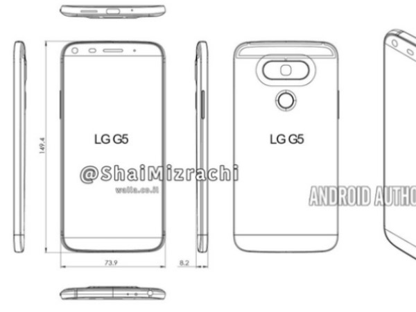 LG G6 Might Feature G5-Like Design, Suggest Leaked Renders