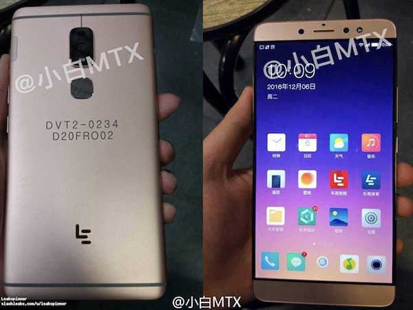 LeEco LeX920 Spotted in Wild with a Massive 6.3-inch Display