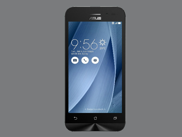 Asus Zenfone Go 4.5 LTE Launched in India at Rs. 6,999