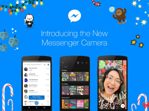 Facebook Upgrades Messenger Camera, Brings 3D Effects and More