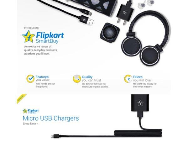 Flipkart's SmartBuy Launched Today: A RIval to AmazonBasics