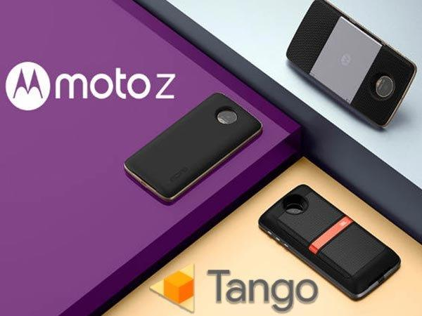 Moto Z and Moto Z Play May Soon Get a Google Tango Mod