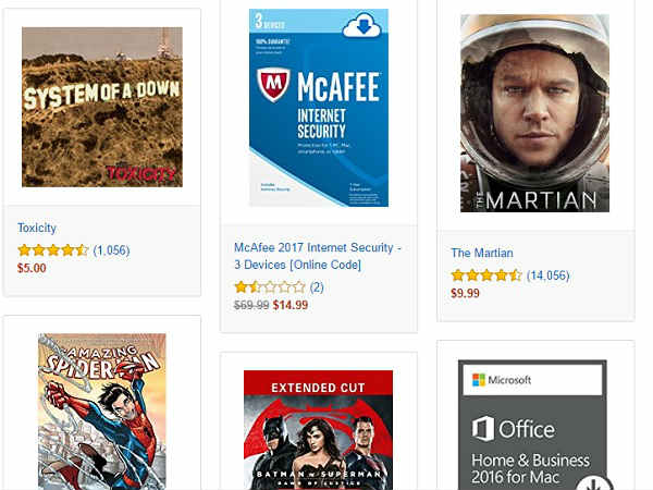 Amazon Digital Day discounts tons of games, movies and more