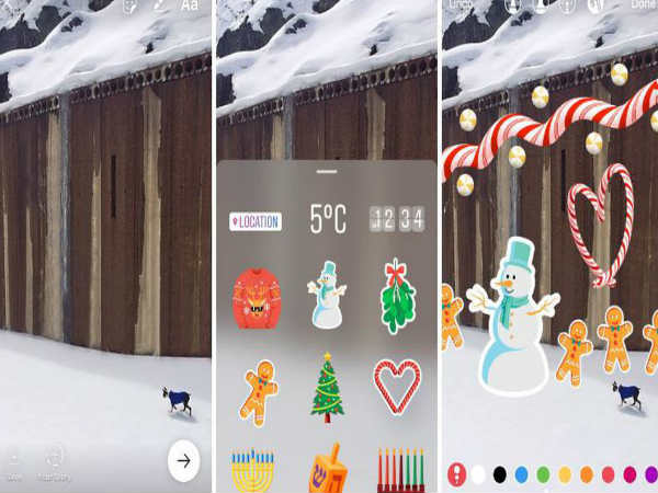 You Can Now Add Stickers to Instagram Posts & Record Video Hands-free