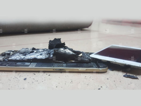 Apple iPhone 6s Reportedly Explodes After Charging