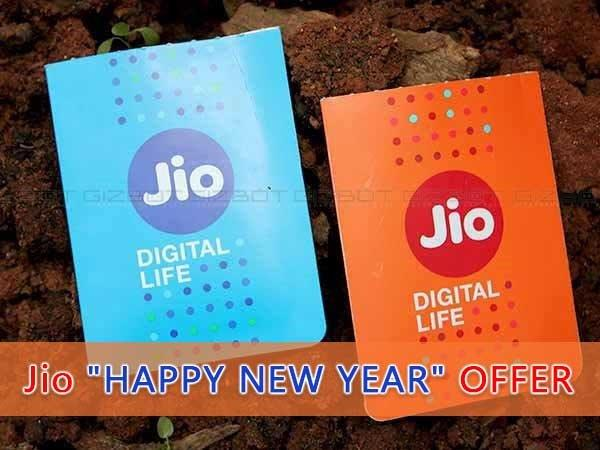 Reliance Jio SIMs Come With Happy New Year Offer: Here's How to Get it