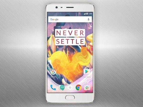 OnePlus 3T Announced in India at Rs. 29,999