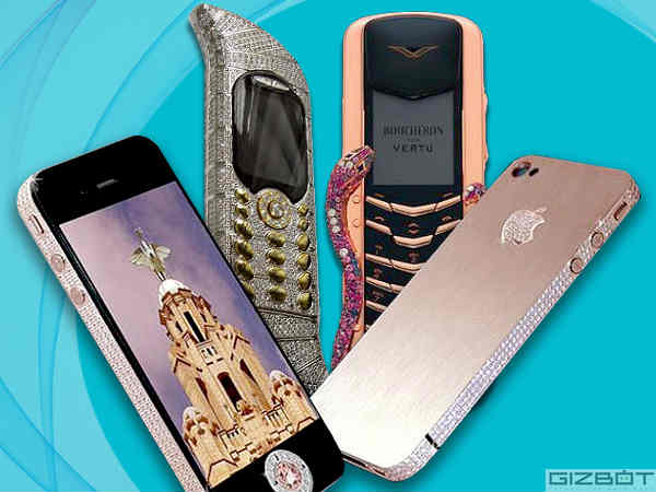 Phones Encrusted With Gold and Diamonds That Can Mesmerize You