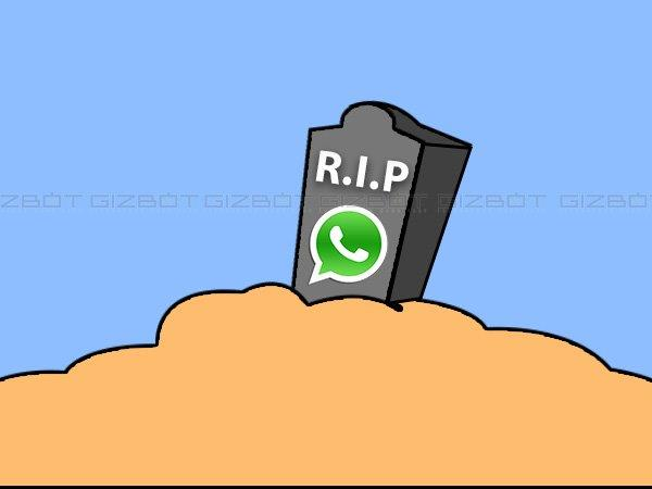 RIP WhatsApp! Upgrade Device to Enjoy WhatsApp's New Features in 2017
