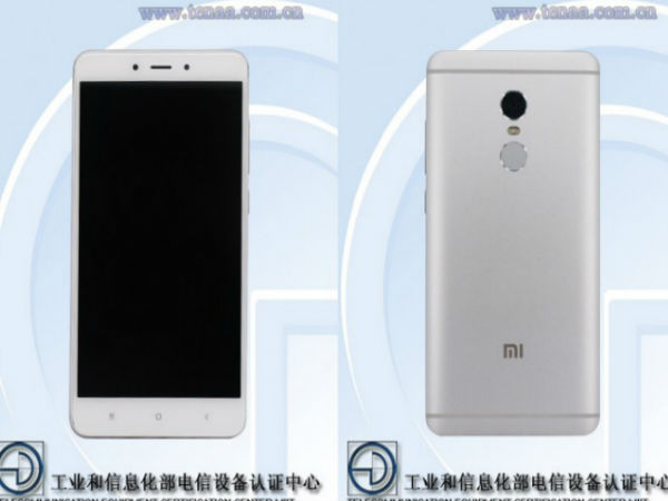 Xiaomi Redmi Note 4X Receives TENAA Certification
