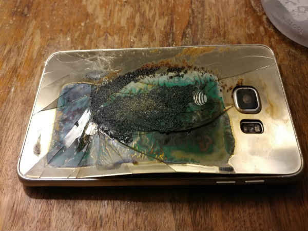 Another Samsung Phone Reportedly Explodes, It's Not Galaxy Note 7