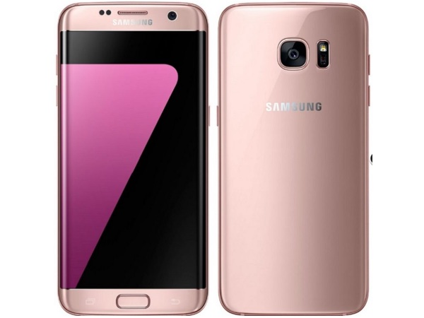 Samsung Galaxy S7 Edge Pink Gold Variant Now Available in India