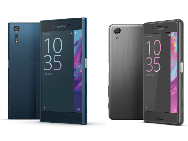 Sony Xperia XZ and Xpeira X Performance Get December Security Update