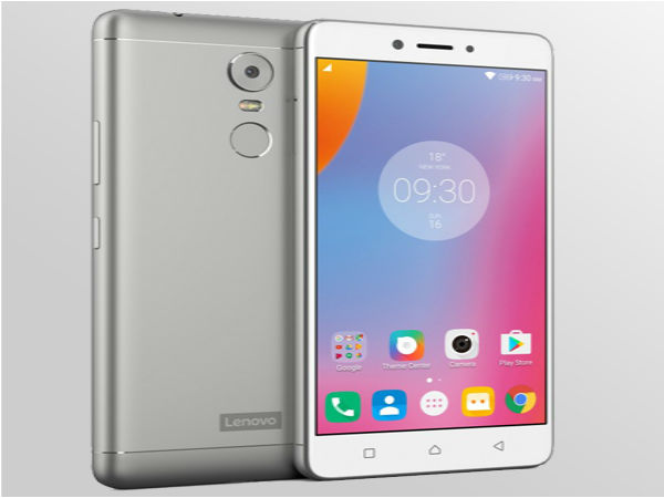 Lenovo K6 Note Launched in India at Just Rs. 13,999