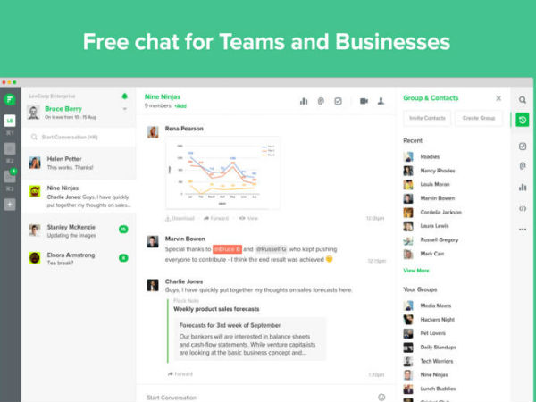 FlockOS is World's First Chat Operating System