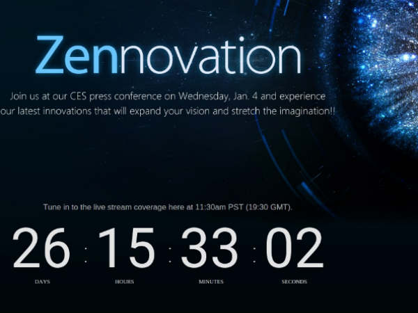 [CES 2017] Asus Zennovation Event Slated to Happen on Jan 4: Is ZenFone 4 with SD835 on the Cards?
