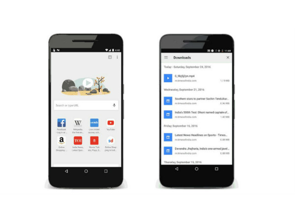 Google Chrome for Android Updated with Support for 'Offline Webpage Download'!