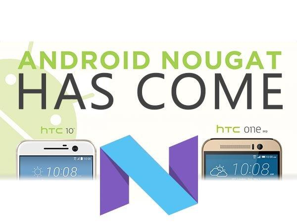 Android 7.0 Nougat Update is Now Available for HTC One M9 Users