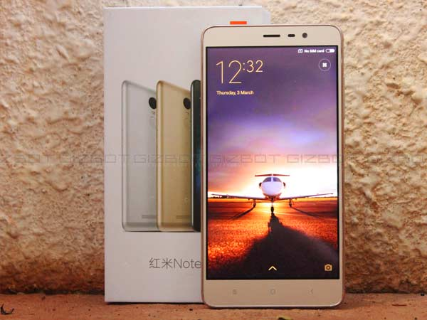 Xiaomi Starts Rolling Out Android Marshmallow Update for Redmi Note 3