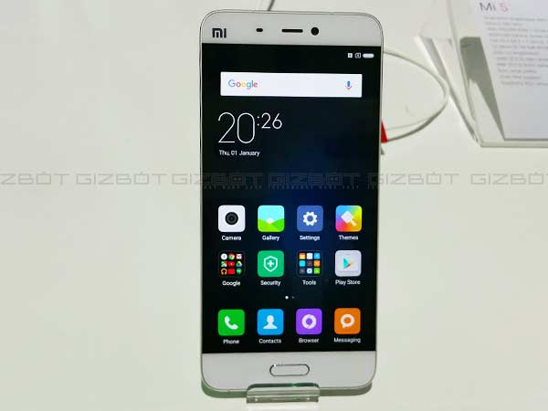Xiaomi Mi 6 Could Be a Mi Note 2 Look-Alike, Says New Rumor