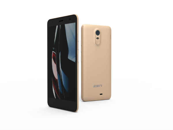 Zen Cinemax Click 4G Smartphone Launched with Jio Happy New Year Offer