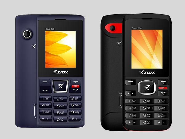 Ziox Mobiles Introduces StarZ Neo and StarZ Bolt from Rs. 920 Onwards