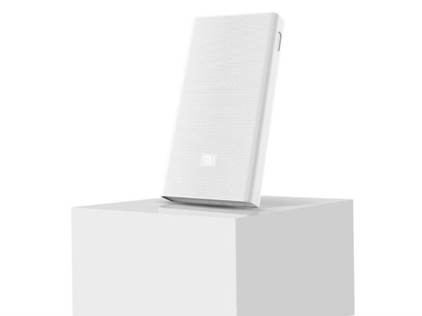 12% off on Mi 20000mAh Power Bank (White)