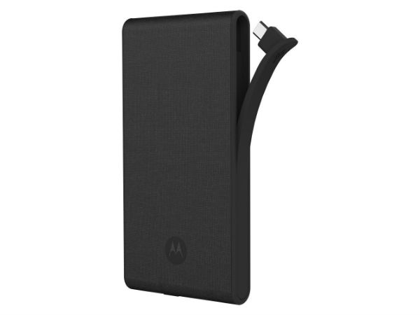 79% off on Motorola P5100 Canvas Portable External Battery Pack - Dark