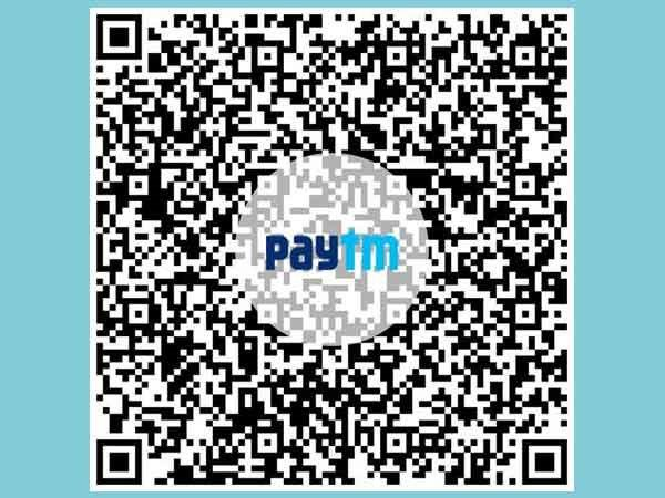 Pay anyone by scanning the recipient's Paytm QR Codes from phone's Image Gallery