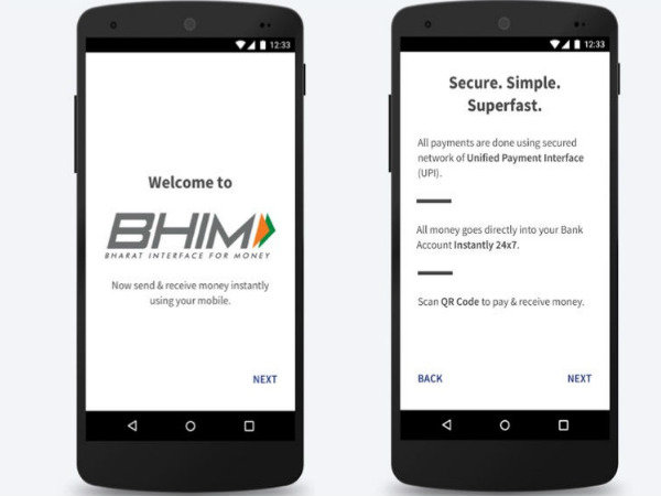 BHIM (Bharat Interface for Money)
