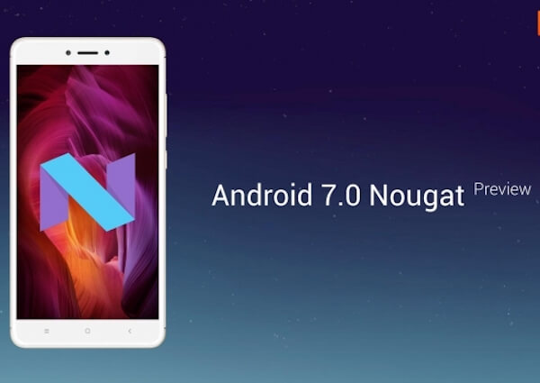 Android 7.0 Nougat for Xiaomi Redmi Note 4 is out now