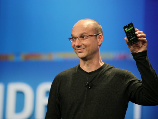 Android developer Andy Rubin might take on Apple and Google with a new smartphone