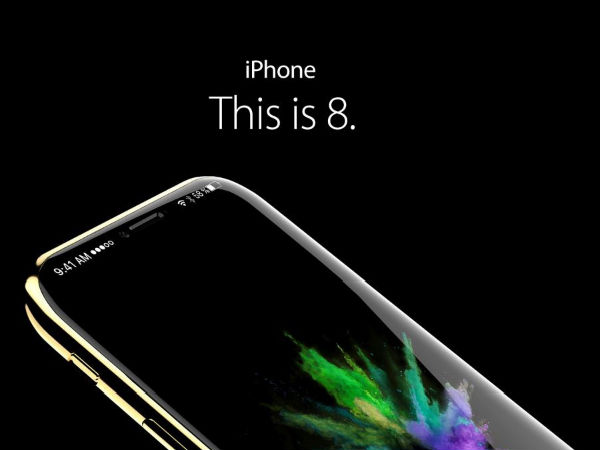Apple iPhone 8 concepts with glass body and iris scanner look stunning