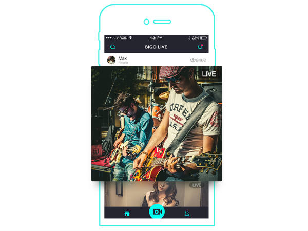 BIGO LIVE app is helping users connect with millions of audience
