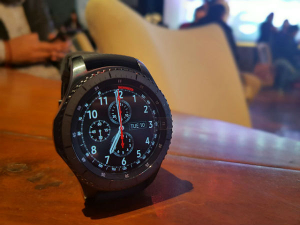 Samsung Gear S3 Smartwatch series announced in India!