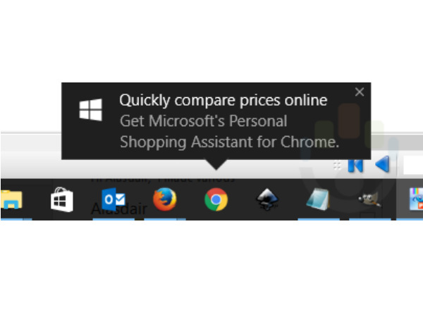 Windows 10 Chrome users are being spammed with Microsoft shopping app