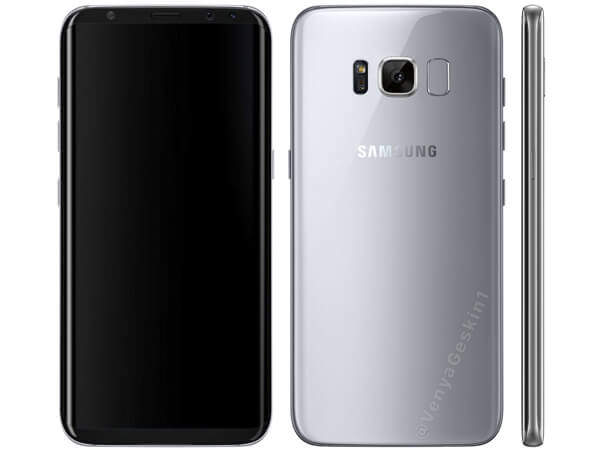 Here's another Samsung Galaxy S8 render