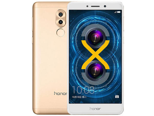 Huawei Honor 6X to Launch in India By January End
