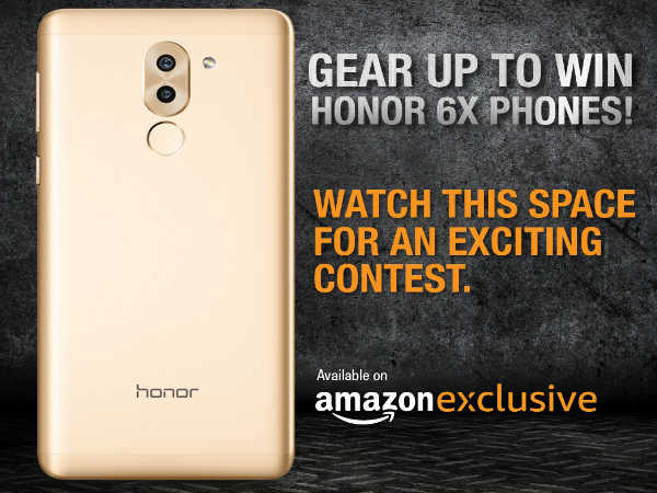 Amazon announces a contest where you could win a brand new Honor 6X