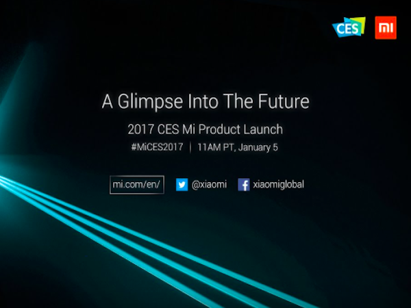How to Live Stream Xiaomi Mi CES 2017 Event Tonight