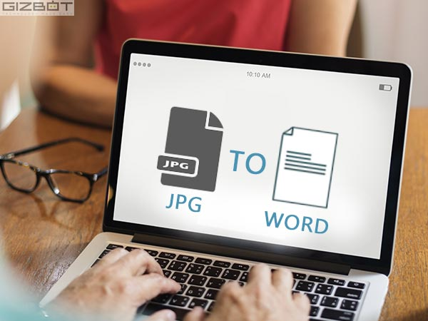 How to convert JPG files into word files