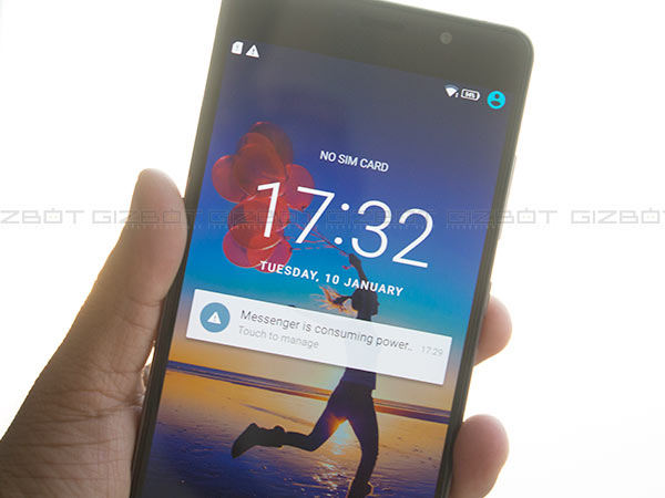 How to unlock apps using fingerprint sensor on Lenovo P2