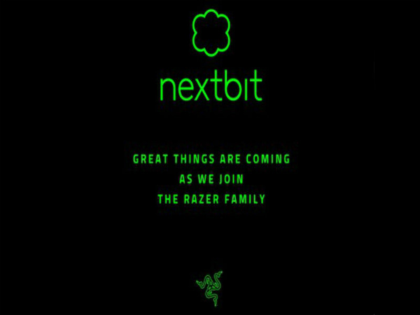 Nextbit sold off themselves to Razer, the gaming hardware company