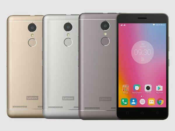 Lenovo K6 Power will go on sale again in India on February 7