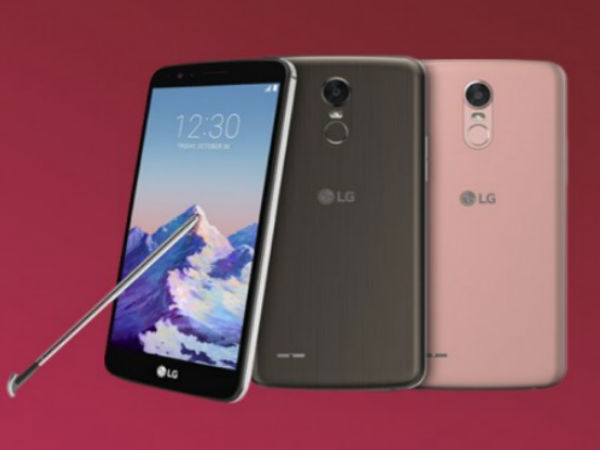 LG Stylus 3 and K Series Mid-Range Smartphones Go Official at CES 2017