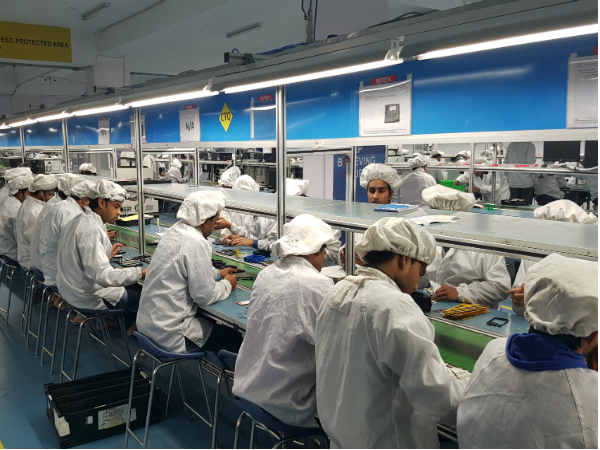 Find out how Intex builds smartphone in its Noida Facility
