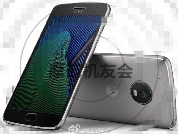 Moto G5 Plus press images leaked