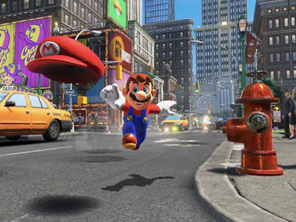 "Nintendo brings Mario to the ""real world"" with Super Mario Odyssey"