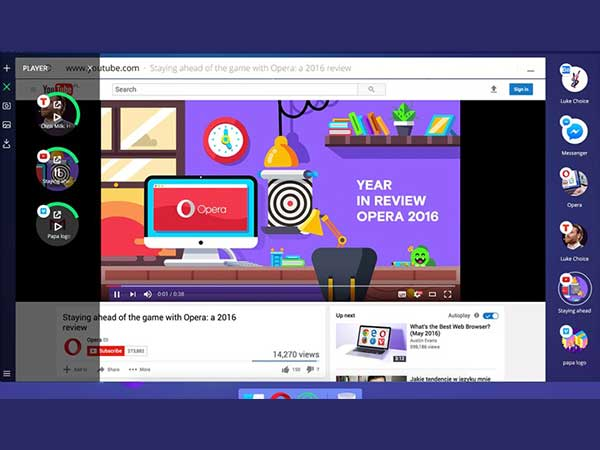 Opera Neon, the first ever concept browser is here